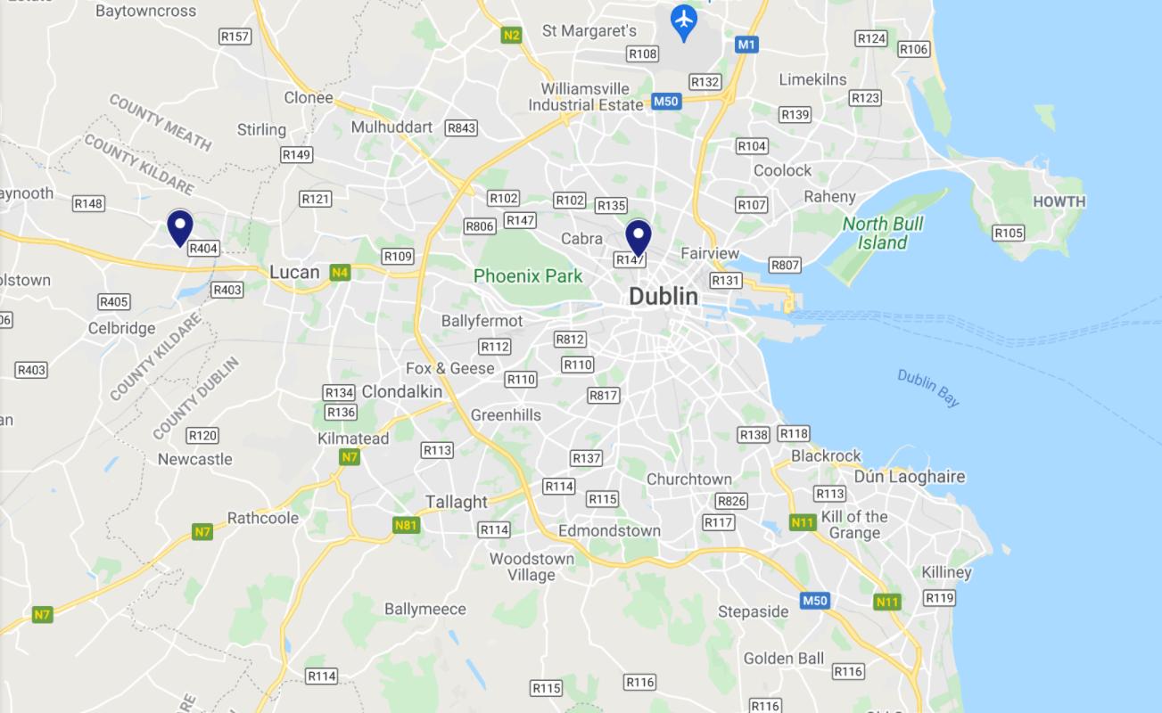 eScoot Lokacije